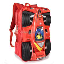 BY-S001 2014 New style 3D Car Pattern Child School Bag