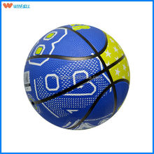 stocking a lot brand logo china manufacturer colorful rubber basketball