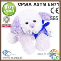 Newly listed fluffy dog stuffed animals at factory price
