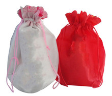 Eco reusable colorful foldable non woven shopping carry bags