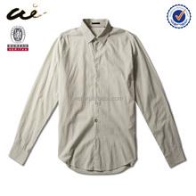 leisure style solid regular size men's fashion shirt