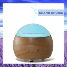 Elegant Wood and Glass LED Aroma Diffuser