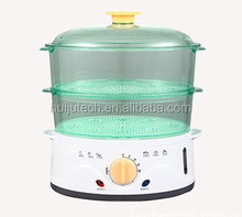 Plastic Food Steamer With Two Layers HJ-020