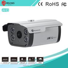 1.0/1.3Megapixel HD resolution Waterproof motion detection low illumination day&night surveillance CCTV security AHD box camera