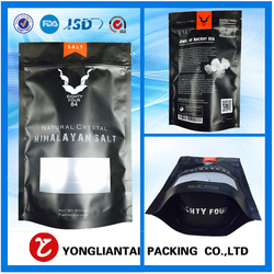 Custom Printed Pet Food / Dried Snack Food Packaging Plastic Aluminum Foil Ziplock Bag
