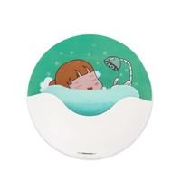 Promotional plastic shower soap dish holder