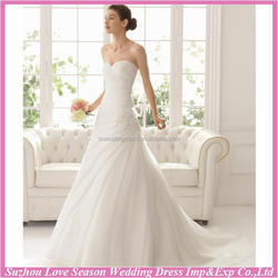 WD9105 New design made in China wedding dress long tail