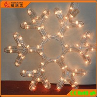 CE RoHS 110V/220V 2D led christmas snowflake lights
