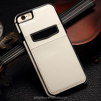 """for iPhone 6 plus Case, leather back Case for iPhone 6/6s plus (5.5"""") PU leather soft Back Cover"""