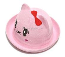 kdis cartoon shape straw bowler hats cap ch-05