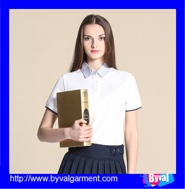 Custom work polo shirts wholesale school uniform polo for Custom work shirts cheap