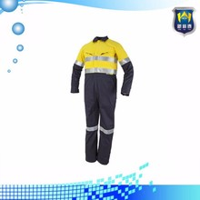 Reflective Fire Retardant Industrial Men's Workwear for Mining