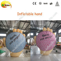 giant inflatable hand model advertising inflatbale model for sale