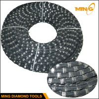 Diamond Wire Saw for Granite Quarry Cutting With Imported Rubber