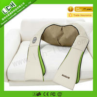 2015 Top Selling LCH Deluxe shiatsu neck kneading 3D shoulder massager for health care Shenzhen factory