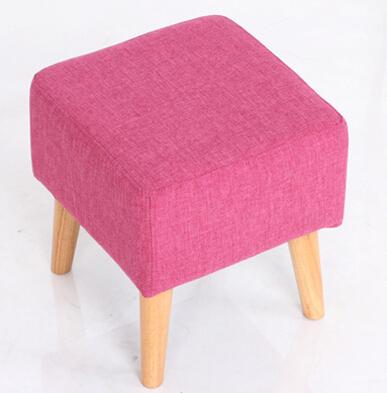 Struttura in legno massello e gambe Ikea Sgabello