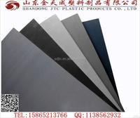 PVC sheets black manufacture