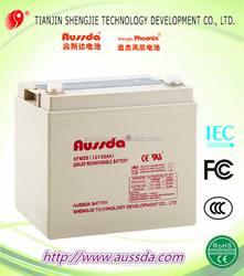 Car use 12V Solar energy storage battery with CE , Rohs, UL certifications