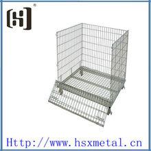 Jaulas de almacenamiento de alambre de acero plegables HSX-1867