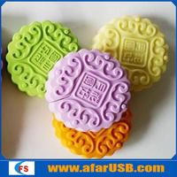 Food Shape USB Flash Memory 16GB, USB Disk in Food Shape, Moon Cake Shape USB