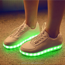 SIHON LED Lights Show Male And Female Couple Shoes