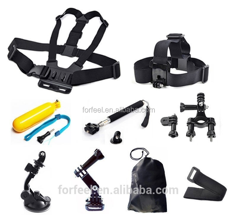 gopro accessories set for gopro hero1 hero 2 hero 3 camera. Black Bedroom Furniture Sets. Home Design Ideas