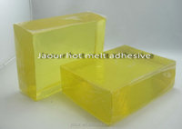 Hot melt pressure sensitive adhesive for frontal tape adhesive