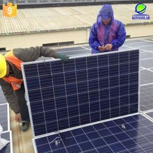 high quality mono solar panel 100W for home solar power system