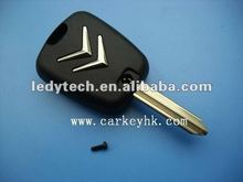 Classic series,Citroen 2 buttons remote key shell X type Square button