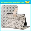 Luxury Wallet case for ipad ,Standing Flip PU Leather Case for Ipad 2/3/4