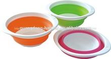 Buena calidad& caliente venta de plástico plegable colador