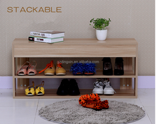 3 tier shoe rack designs wood