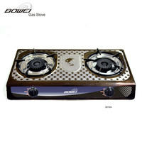 Home Appliances National Gas Cooker Tabletop 2 Burner Hobs Gas Stove