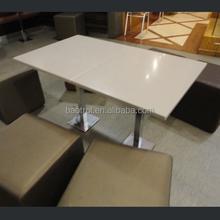 customize acrylic walmart restaurant dinning table and chair