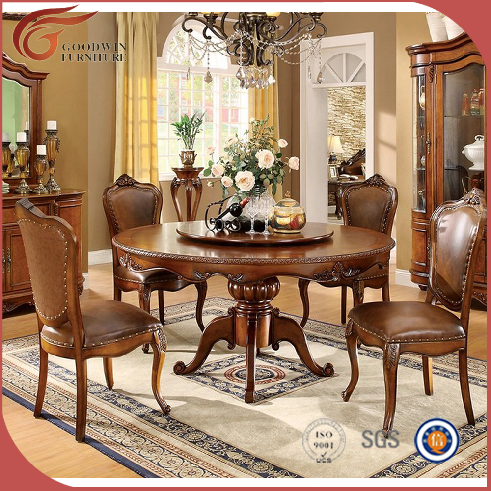 Oak solid wood dining room furniture sets a78 buy for Dining room furniture images
