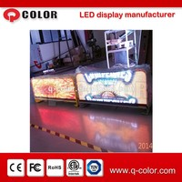 led screen display for taxi mobile advertising