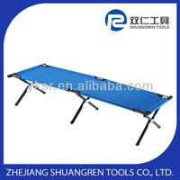 folding aluminum camping bed/cot