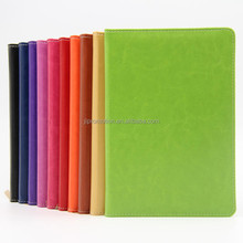 Wire-0 spiral notebook with elastic strap and pen kraft paper cover for student