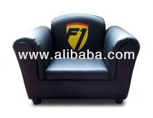 Kids Sofa Chair Racing Style