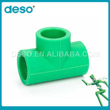 Full Sizes High Quality Green Korea Material PPR Pipe Fittings
