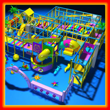 Shopping Mall Attractive Jungle Theme Plastic Indoor Play Park