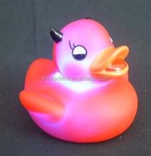 couple sex bath LED flashing toys bath duck 6-10cm