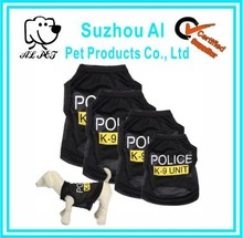 Small Pet Vest Police Puppy T-Shirt Summer Apparel Dog Coat