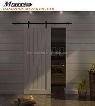 hanging sliding barn door oil rubbed bronze