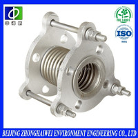 flexible stainless steel precision exhaust bellows expansion joints