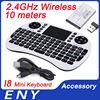 2.4GHz Mini Wireless Keyboard I8 2.4G Wireless Keyboard Touchpad Google TV Box Media Control