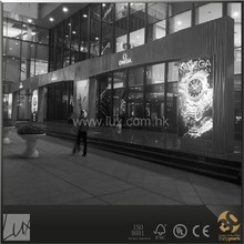 Luxury brand watches shop design and construction