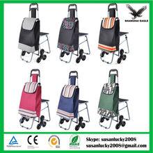 Folding Shopping trolley Cart, foldable vegetable shopping trolley bag