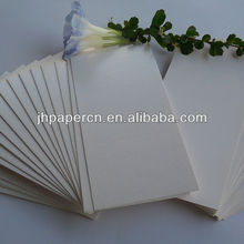 wholesale recycled white coated duplex food board paper