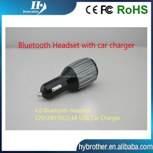 3 in 1 bluetooth earphone and mobile charger for iphone 6